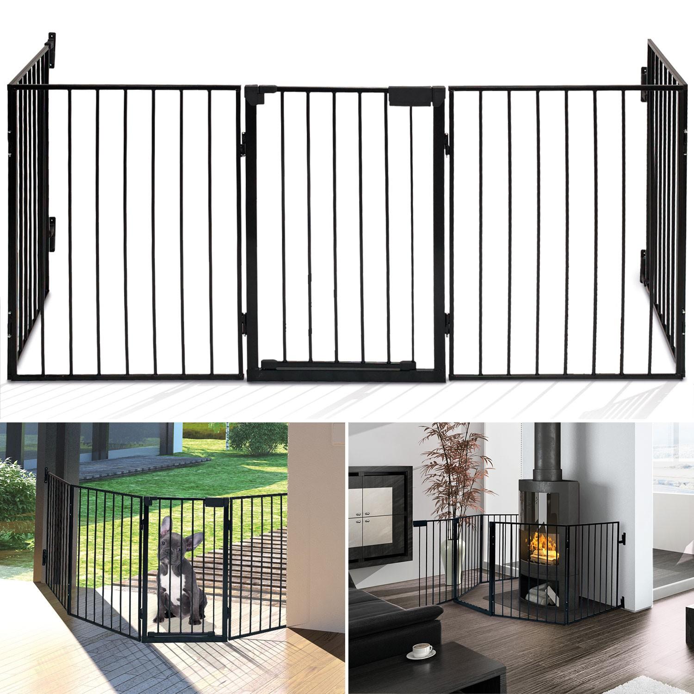 barriere de protection pour poele a bois. Black Bedroom Furniture Sets. Home Design Ideas