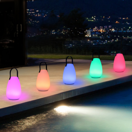 Lampe LED BALI rechargeable multicolore