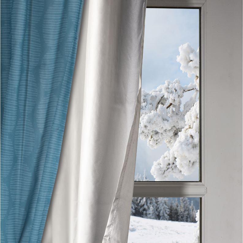Rideau thermique isolant anti froid pour fen tre s lection - Aeration fenetre froid ...