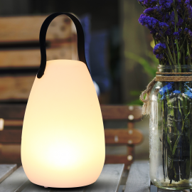 Lampe LED BALI rechargeable blanche