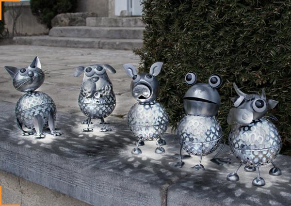 5 animaux solaires extérieurs pour une décoration originale !