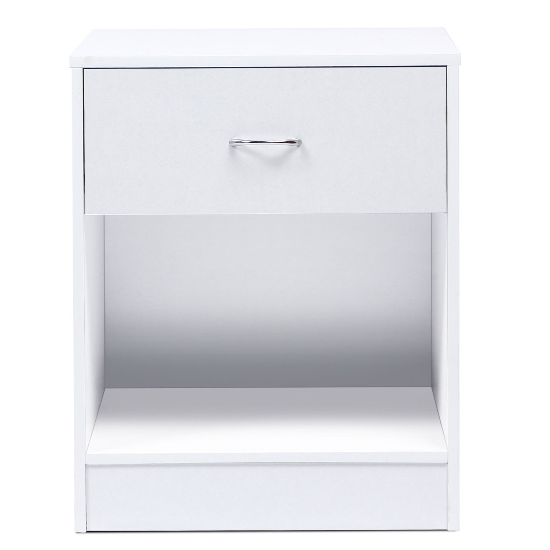 BlanchesLampes Bois Trepied De Chevet 2 Blanc Tables PX80Oknw