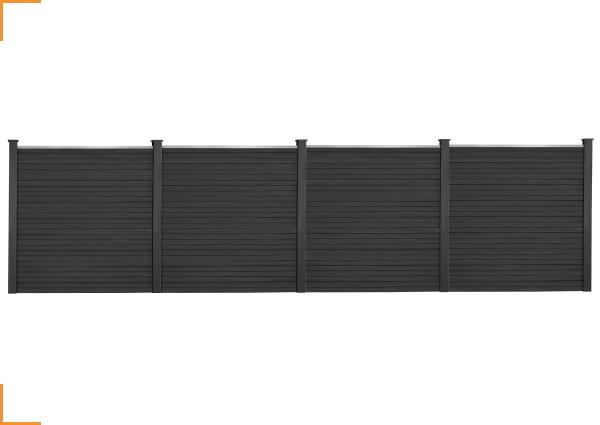 Personnalisez votre clôture avec ce kit de départ et ses 3 extensions !