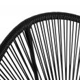 Fauteuil de jardin IZMIR noir x2