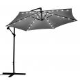 Guirlande solaire universelle pour parasol 6 baleines