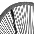 Fauteuil de jardin IZMIR gris x2