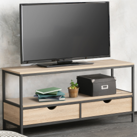 Meuble TV DETROIT design industriel