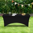 Housse noire pour table pliante 180 CM