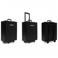 Mallette valise outils aluminium avec roulettes 999 PCS