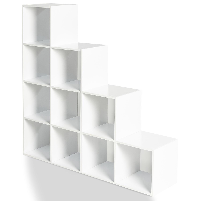 Meuble Escalier Pas Cher Bois Blanc 4 Niveaux Id Market