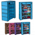 Armoire étagère Chaussures Rangement Bleu PM 90x60x30