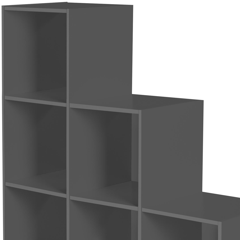 93 x 93 x 31 cm Lot de 6 Cubes /Étag/ère Escalier Sacs Blanc Jouets BRIAN /& DANY Meuble Escalier Dimensions Pour V/êtements