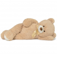 Ours en peluche géant 150 cm beige