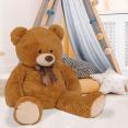 Ours en peluche géant 100 cm brun