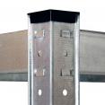 Lot de 3 étagères modulables charges lourdes H. 150 CM 12 plateaux