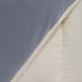 Couette polaire biface 220x240 CM gris et crème