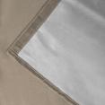 Lot de 2 rideaux thermiques Taupe 135x240 cm