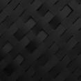 Kit de lamelles occultantes PVC noires L. 60 M pour panneau grillagé