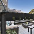 Brise vue haute densité NOIR 1,8 x 10 m 300 gr/m² qualité pro