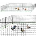 Kit filet à poules 25 M avec 9 piquets
