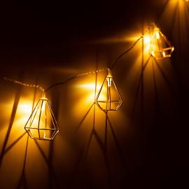 Guirlande lanternes solaires pour jardin