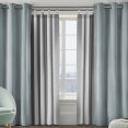 Lot de 2 rideaux thermique isolant anti froid pour fenêtre