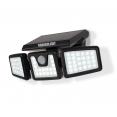 Projecteur solaire 3 têtes 70 LED détecteur de mouvement