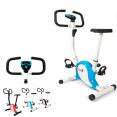 Vélo d'appartement bleu fitness cardio