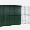 Kit occultant vert H. 153 cm lamelles PVC rigides qualité PRO
