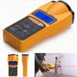 Télémètre portable à visée laser écran LCD portée 18 m idéal mesure distance surface volume