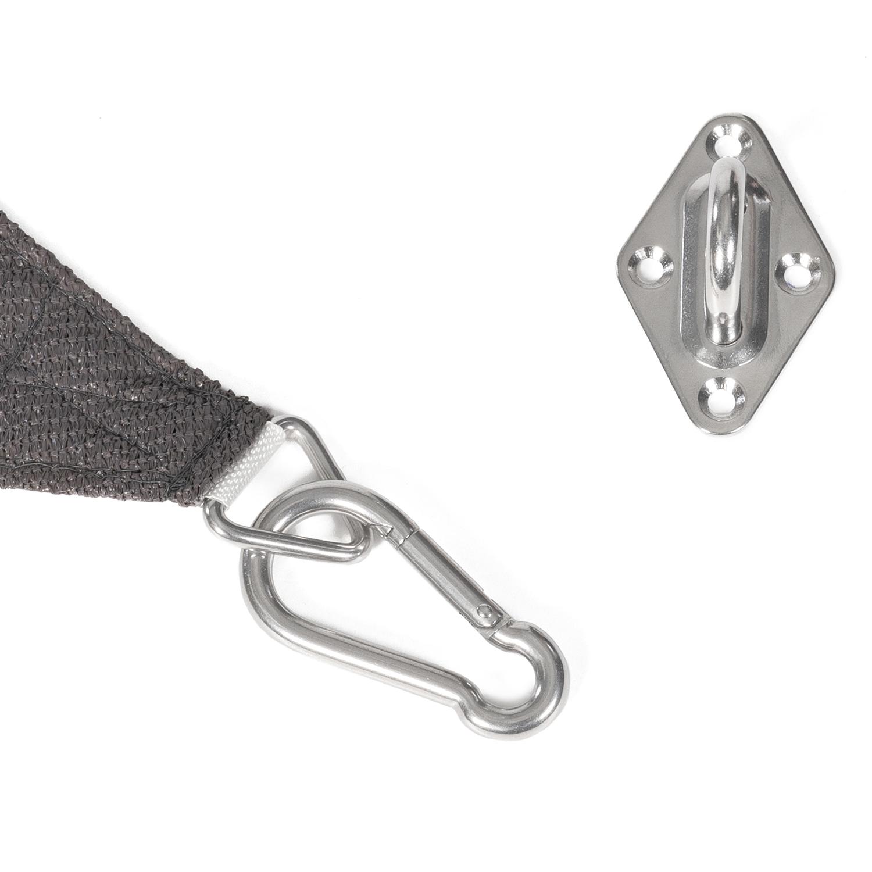 GWHOLE Kit de Fixation pour Voile dombrage
