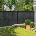Kit occultant gris H. 123 cm lamelles PVC rigides qualité PRO