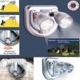 Lampe sans fil avec détecteur de mouvement