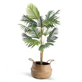 Palmier artificiel 100 cm + pot