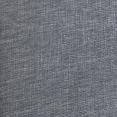 Lit double bois Balta 140x190 cm tissu gris anthracite