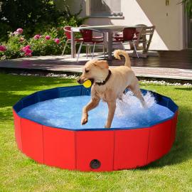 Piscine pliable XXL pour chien baignoire 120 x 30 CM