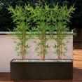 Bambou artificiel hauteur 150 cm avec pot