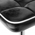 Lot de 4 chaises BOBY vintage noires