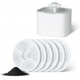 Lot de 6 filtres de rechange charbon pour fontaine à eau chien et chat