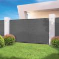 Brise vue haute densité gris 2 x 10 m 300 gr/m² qualité pro