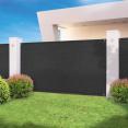 Brise vue haute densité NOIR 1,5 x 10 m 300 gr/m² qualité pro