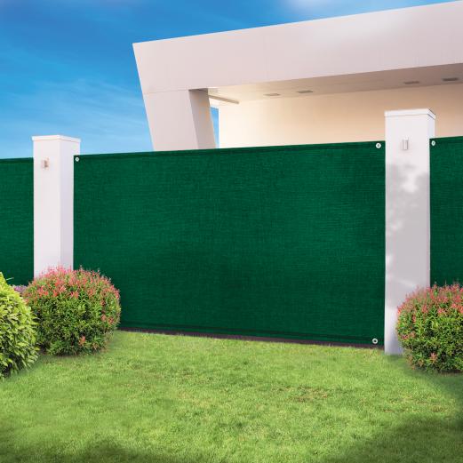 Brise vue haute densité 1,2x10m 300 gr/m² vert qualité pro