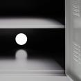 Buffet ESTEL en métal gris clair