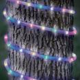 Cordon lumineux solaire 50 led multicolores