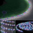 Cordon lumineux solaire 100 led multicolores
