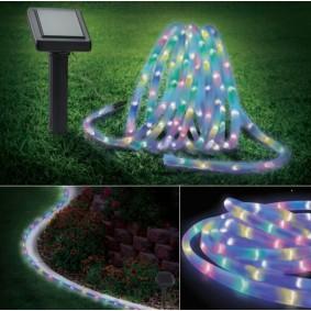 Cordon lumineux solaire 150 led multicolores