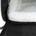 Sac de transport gris pour chat et chien panier de voyage léger