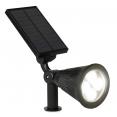 Lot de 2 spots solaires LED extérieurs 2 en 1 ajustables