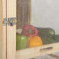Légumier fruitier en bois VEGGE avec 3 tiroirs amovibles