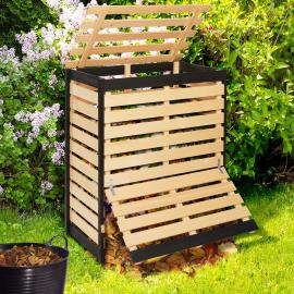 Bac de compostage en bois 400L